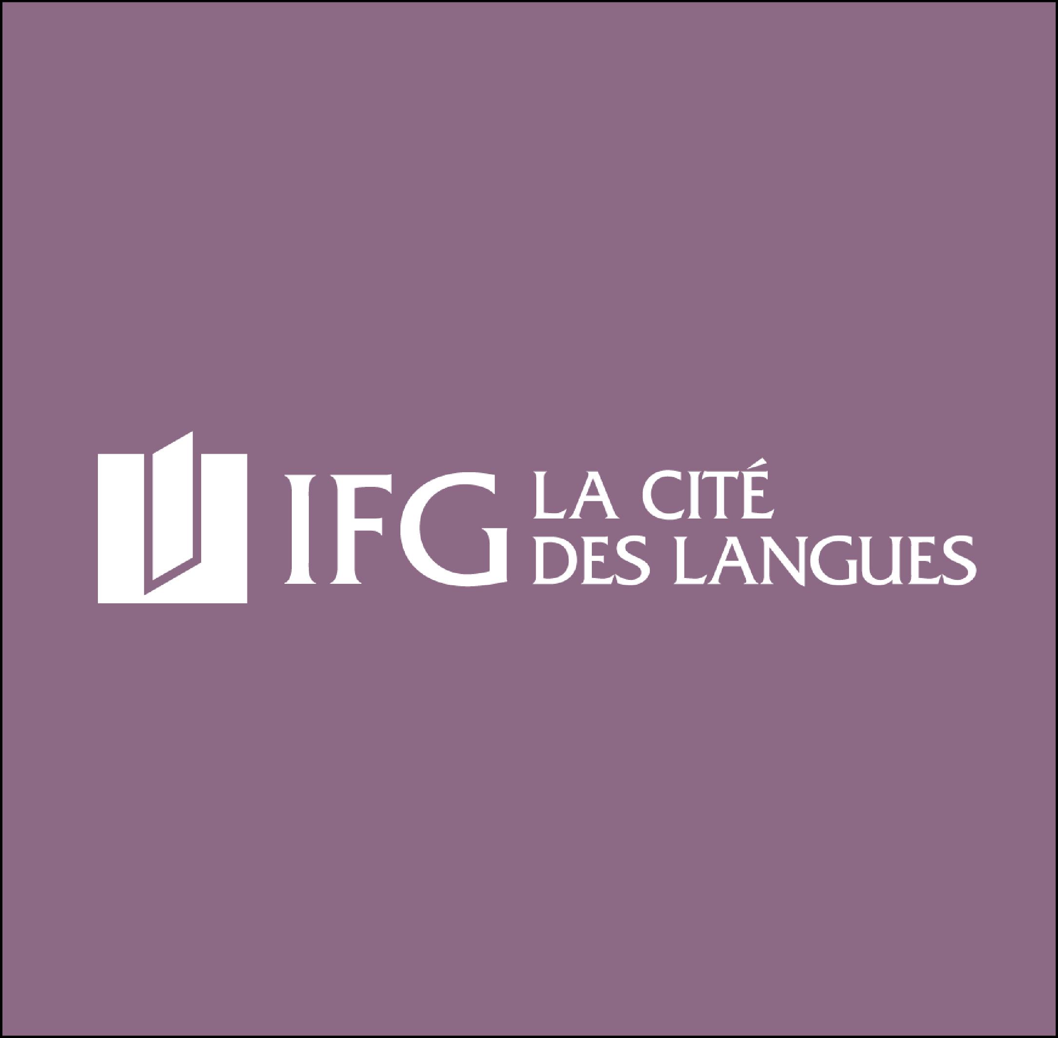 IFG LA CITÉ DES LANGUES