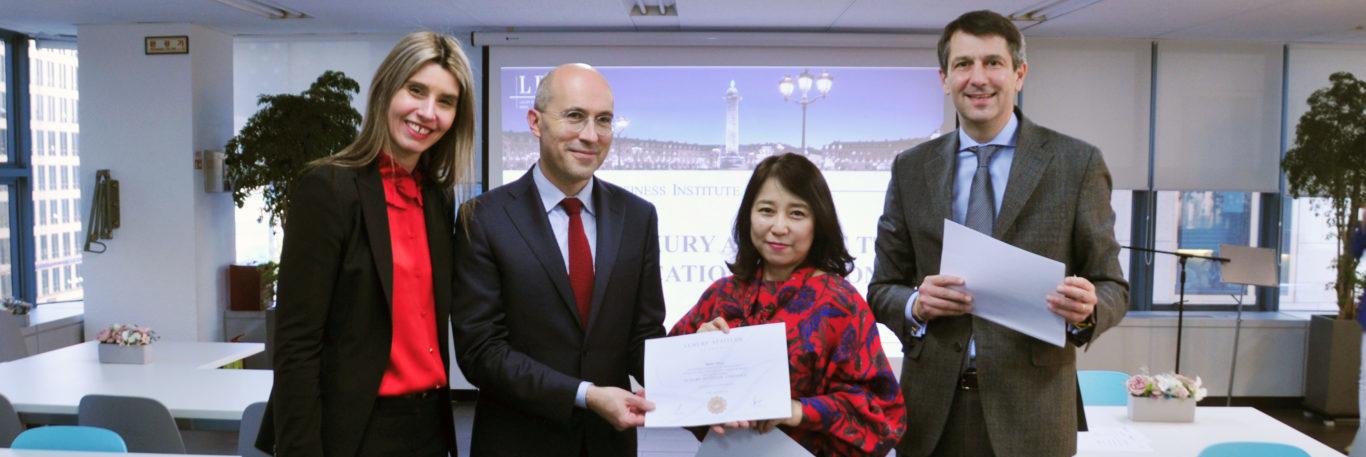 IFG Luxury Attitude Certification Ceremony in Korea