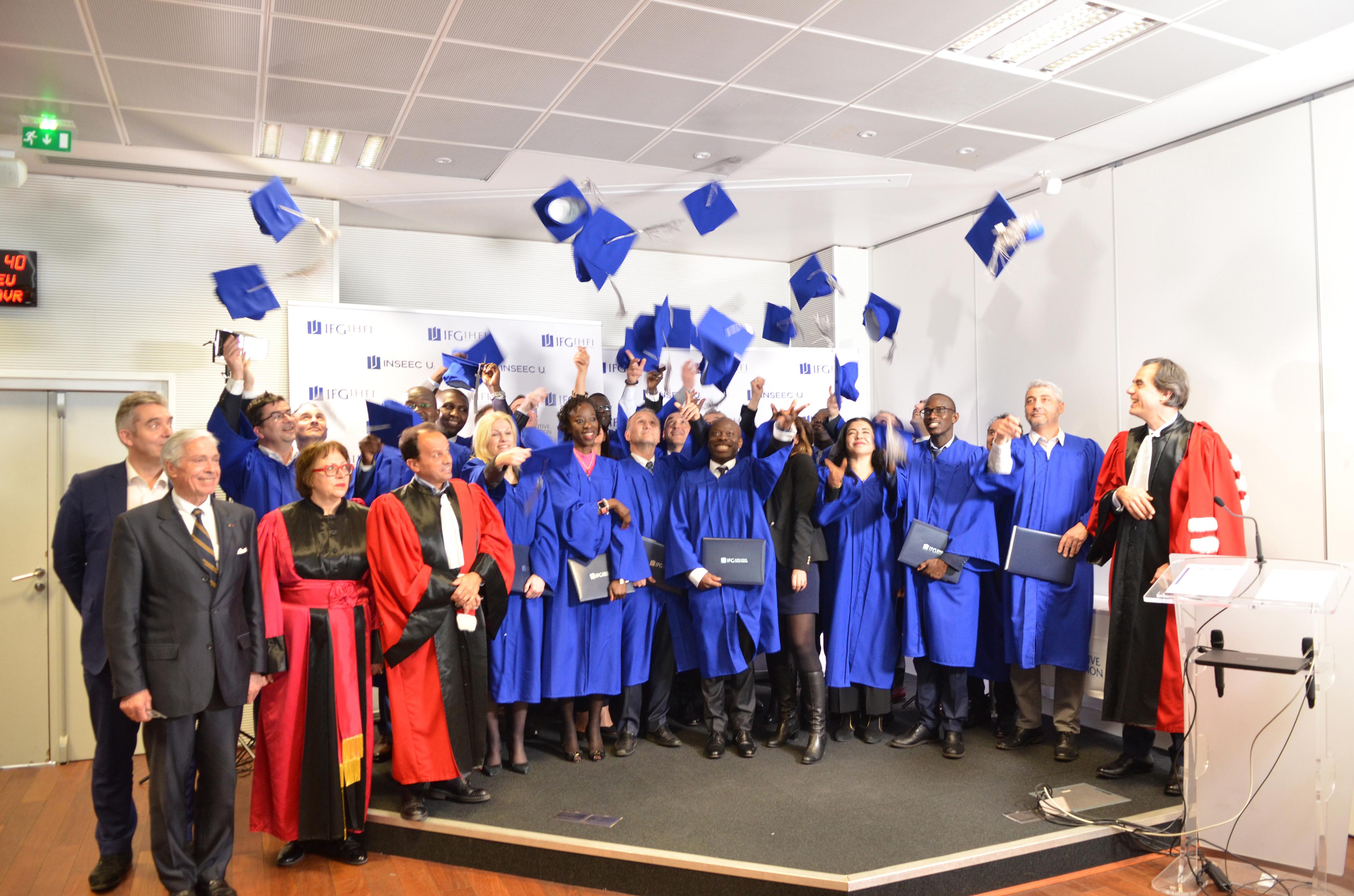 Nos diplômés IHFI à l'honneur